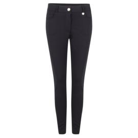 Jacky Luxury - Five Pockets Traveller Pants- Black