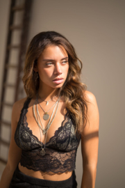 Moost Wanted -  Bralette Top Lilly - Black
