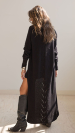Moost Wanted -Knitted Cardigan Vievienne - Black