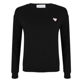 Jacky Luxury -Sweater Imagine - Black