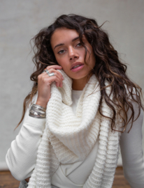 Moost Wanted - Maeve Knitted-Scarf - Off-white