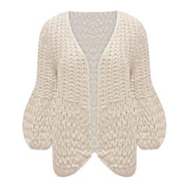 Boho Chic - Handmade Knitted Cardigan  - Diverse Kleuren