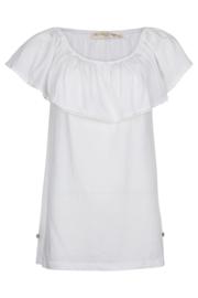 Isla Ibiza - Off-shoulder Top - White