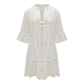 Selected by Boho Chic - Linnen Tunic/Dress -  Diverse Kleuren