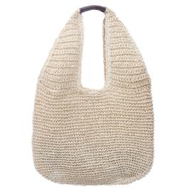 Boho Chic -Kiss the Ocean Beach Bag -Naturel
