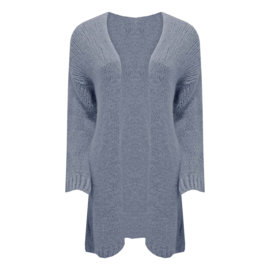 Boho Chic -Long Knitted Cardigan  - Diverse Kleuren