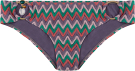 Boho Bikini - Bottom  exclusive aztec low - Lila
