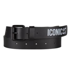 Iconic27 - Leather Belt - Black