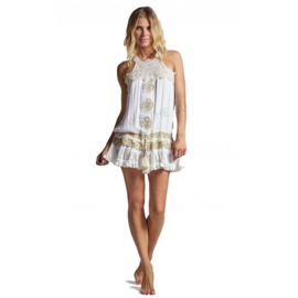 Always the sun - Short Dress Coral Gables - White