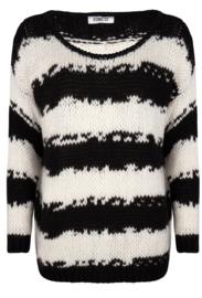 Iconic27 - Unplugged Knit - Black/White