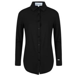 Jacky Luxury - Basic blouse stretch - Black