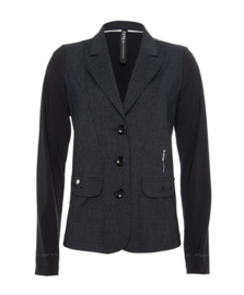 ZIP73 - Blazer Twill - Antra/Black