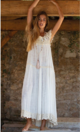 Always the sun - Maxi Dress Daytona - Cream