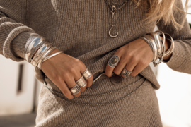 Moost Wanted - Knitted Sweater Dayla- Tender Taupe