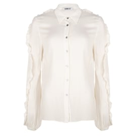 Iconic27 - Heart Shaped Blouse  - Off-white