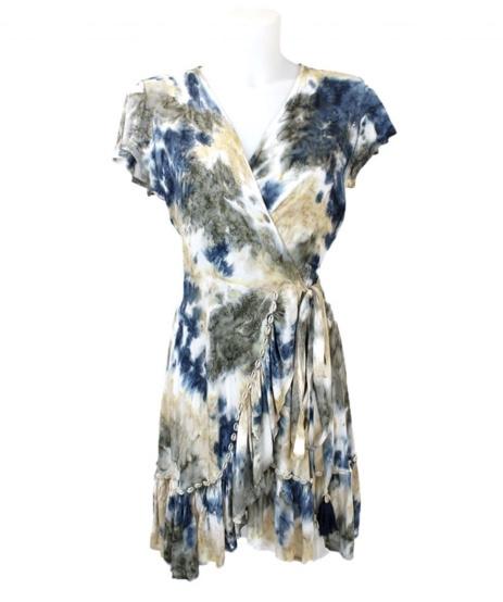 Mele Beach - Short dress June  - Mantra Dark Grey