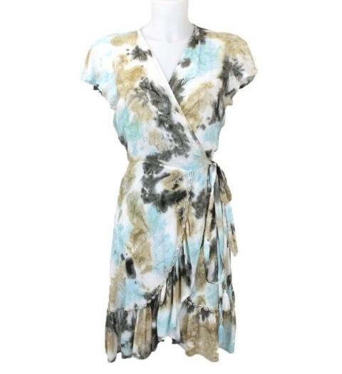 Mele Beach - Short dress June  - Loto Aqua
