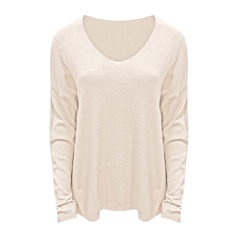 Selected by Boho Chic - Knitted Sweater V-neck  - Diverse Kleuren