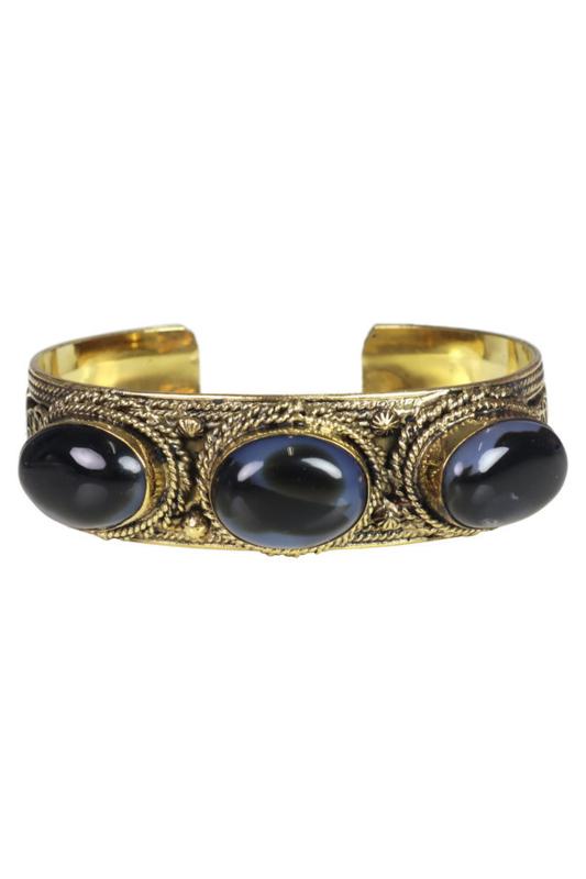 Isla Ibiza - Armband - Zwart