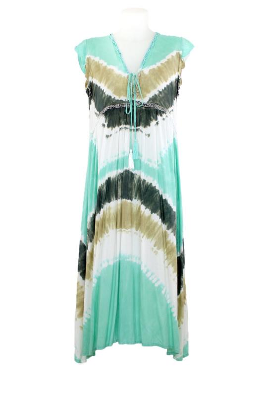 Mele Beach - Dress Maslog  - Mudra Aqua