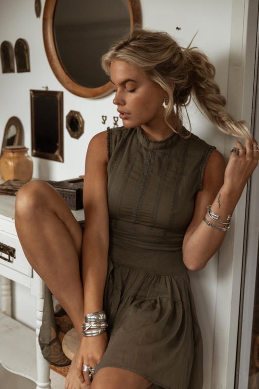 Moost Wanted -  Laia Dress - Sensual Green
