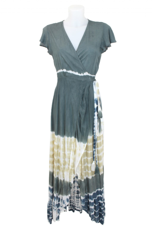 Mele Beach -Long dress June  - Mantra Dark Grey