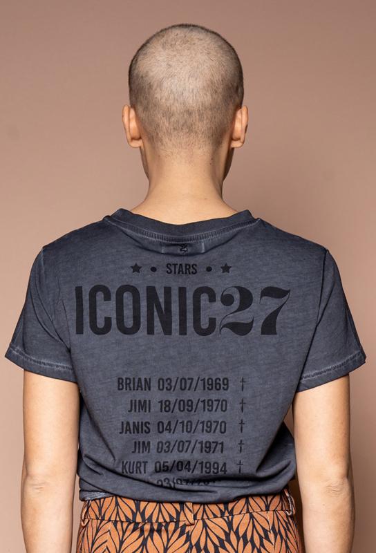 Iconic27 -Icons Tee - Black