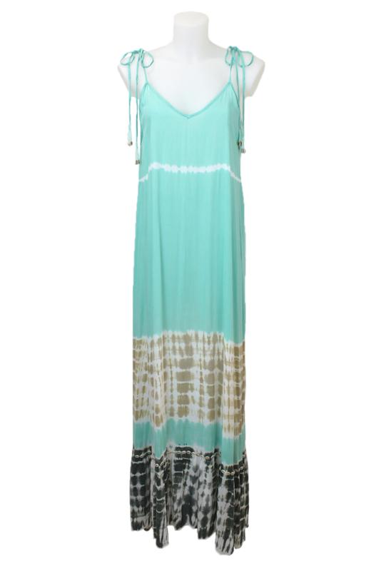 Mele Beach -Long dress Atlantico  - Mantra Aqua