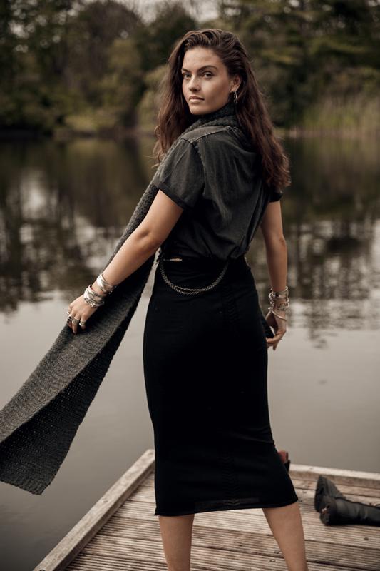 Moost Wanted -Bella Skirt - Black