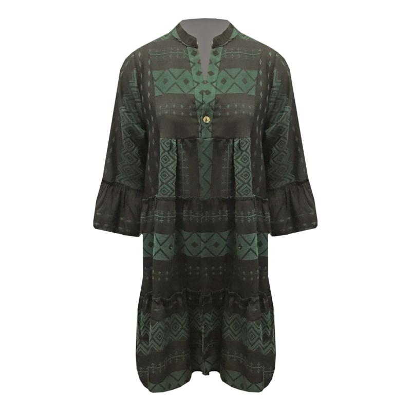 Selected by Boho Chic - Aztec Tunic/Dress -  Diverse Kleuren