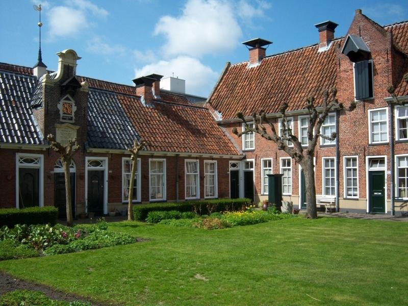 Rondleiding hofjes Groningen met Gids