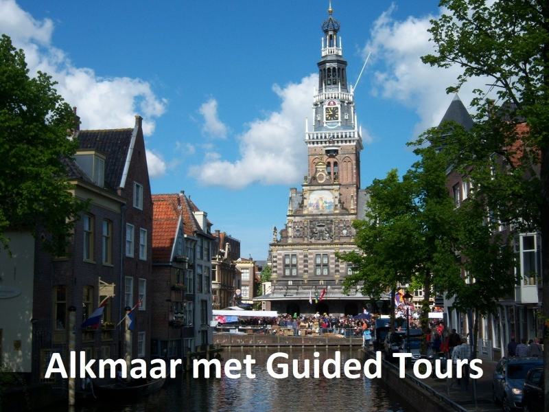 Guided Tour Alkmaar with Guide