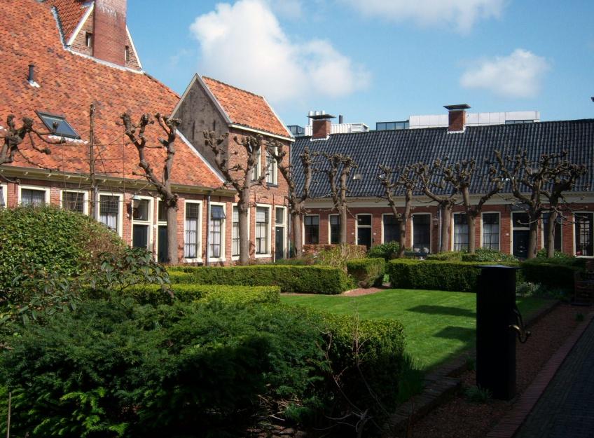 Rondleiding hofjes hoppen Groningen