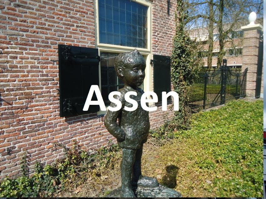 Assen stad in Drenthe