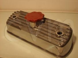 Aluminium kleppendeksel schuin compleet met dop