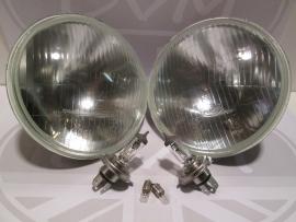 H4 koplampset (bol model) met lampjes