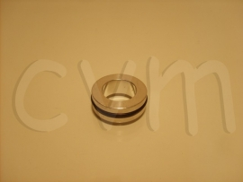 Aluminium ring + rubber ring