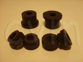 Achtersubframe rubber set
