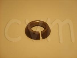 Conische ring achter centrale wielmoer schijfrem