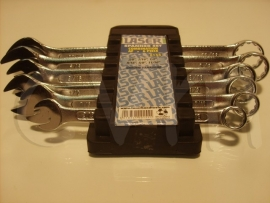 Sleutelset engelse maten 6-delig