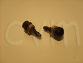 Ruitensproeiers dubbel zwart (2 stuks)