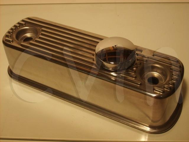 Aluminium kleppendeksel compleet met dop