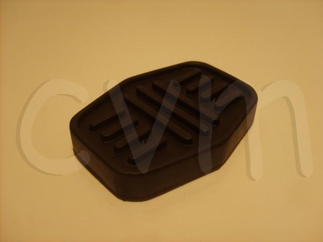 Rem- en koppelingspedaal rubber