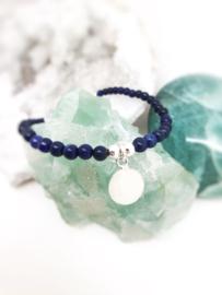 Baby- en kind armband Lapis Lazuli Boys