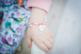 Baby- en kind armband Lychee
