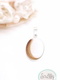 Moedermelk ketting ovaal medium