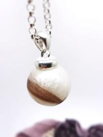 Moedermelk hanger- en ketting Pearl
