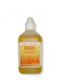 Toco-Tholin Natumas Neutraal massage olie / 250 ml