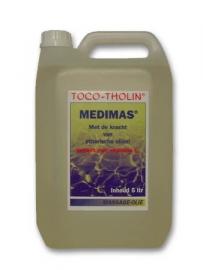 Toco-Tholin Medimas, medicinale massage olie / 5 liter