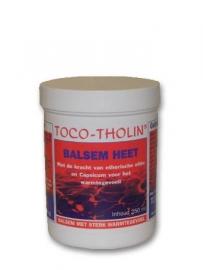 Toco-Tholin Balsem Heet 250 ml